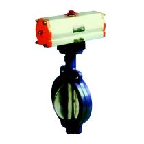 手动,气动,蜗轮传动,电动对夹式橡胶密封蝶阀